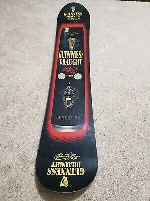 Guinness Draught Promo Snowboard ~ Very Cool Wall Hanger ~