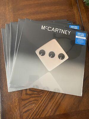 PAUL MCCARTNEY - MCCARTNEY III LP BARNES & NOBLE BLUE EXCLUSIVE VINYL 3