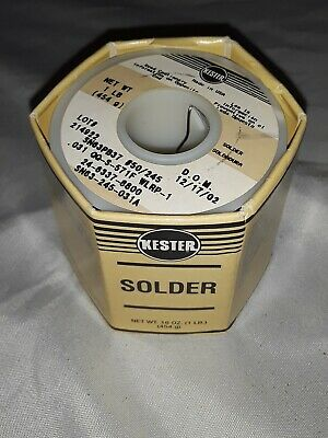 Kester Wire Solder .031 In. Sn63 Pb37 50245 1 Lb.