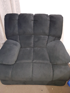 Fabric Recliner Media Chair