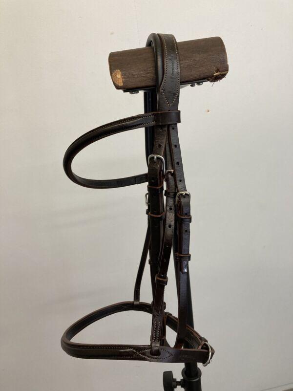 Devoucoux Horse Bridle - Size Medium **free bit**