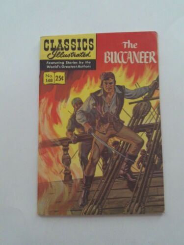 Classics Illustrated #148 - THE BUCCANEER  - HRN 169 VGFN