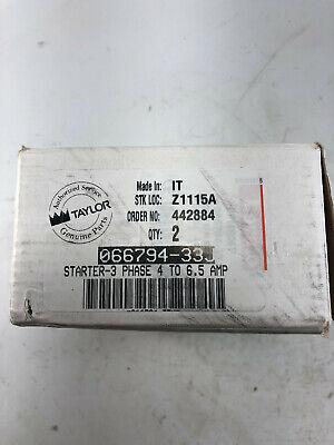 Genuine Oem Taylor Commercial Kitchen Freezer Relay 066794-33j Line Starter