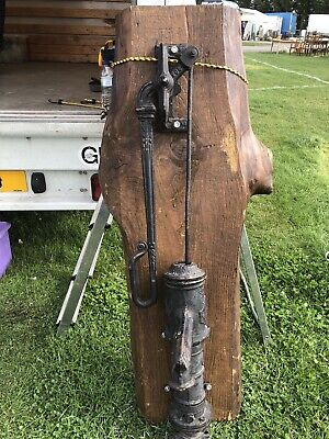 Vintage Cast Iron Water Pump Extra Large