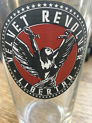 Velvet Revolver Libertad Pint Glass Newbury Comics Artist Series #4 NEW