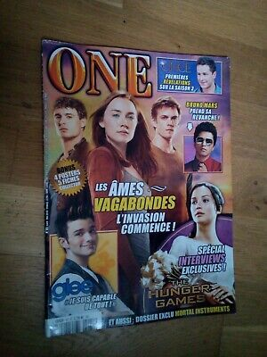 ONE n°81 avril 2013 Les Âmes Vagabondes Hunger Games Glee Bruno Mars  for sale  Shipping to Nigeria