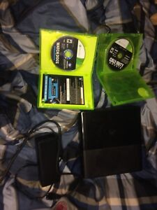 Xbox 360 and games and controller