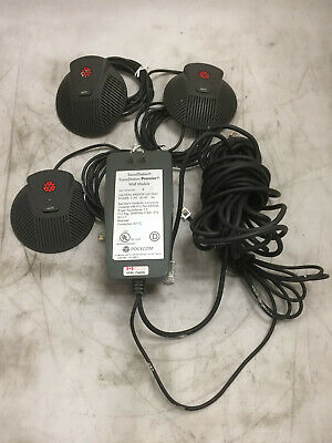 Polycom Soundstation Premier Wall Module With 3 External Microphones