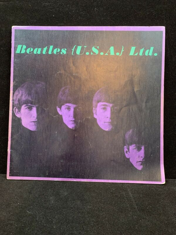 Vintage Beatles 1964 USA LTD Tour Program Book