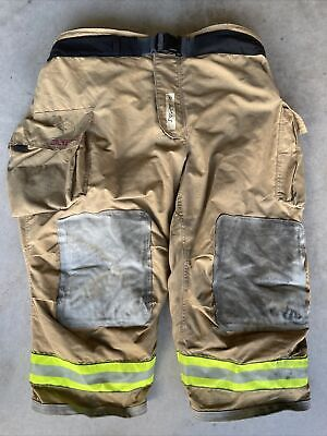 Firefighter Bunker Turnout Gear Pants Globe 54x28 G-extreme 2008 Costume