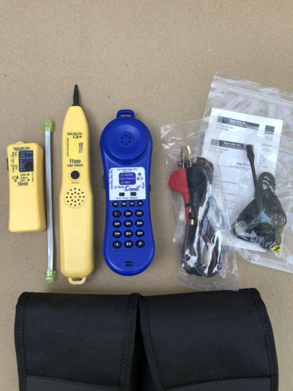 Test-UM Lil Buttie Telephone Butt/Test Set, Tone Generator, Tracer & Headset