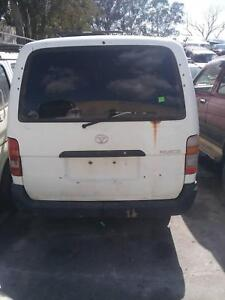 NOW WRECKING TOYOTA HIACE WHITE COLOR ALL PARTS 2005 Dandenong South Greater Dandenong Preview