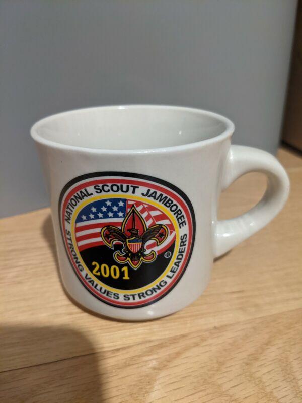 Vintage 2001 National Scout Jamboree Fleur Boy Scouts of America Coffee Mug Cup