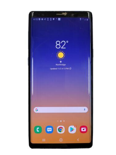 Samsung Galaxy Note9 SM-N960U - 128GB - Ocean Blue Unlocked  - $230.00