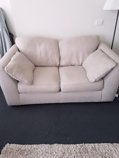 2 Seater Plush Sofa Great Condition