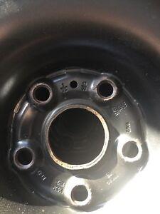 4 winter tires on rim