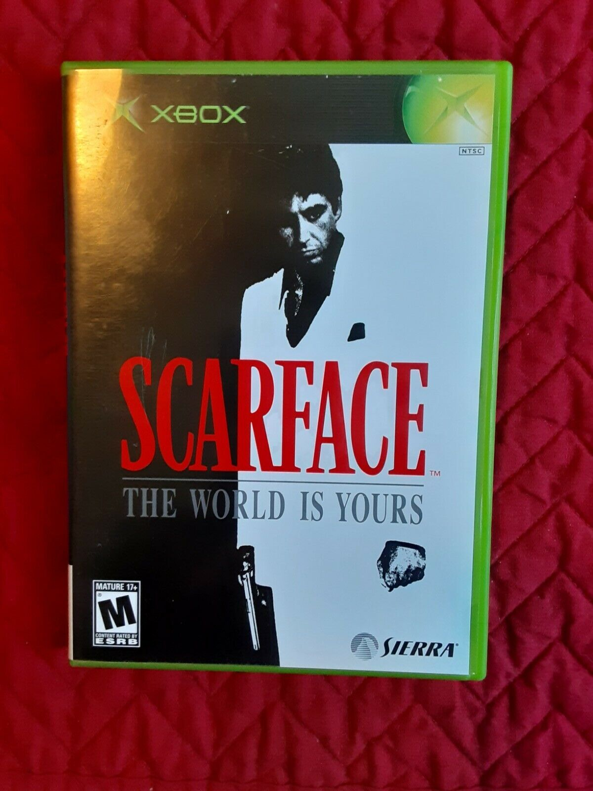 Scarface The World Is Yours Microsoft Xbox, 2006 . Rare Complete Working  - $50.00