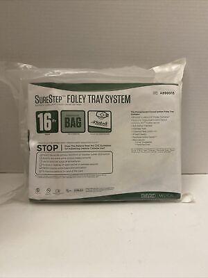 Bard Surestep Foley Tray System 16 Fr Expired 01312020