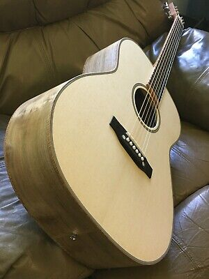 Pizzecci Custom Hand Built Solid Wood Luthier Acoustic Guitar-New-  #485/447