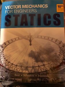 Statics textbook for sale