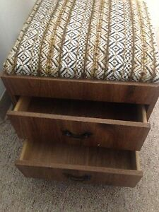 Sewing machine storage stool
