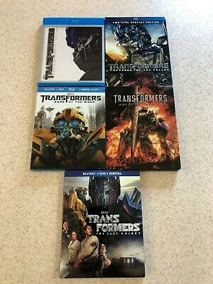 Transformers 1-5 BLU-RAY MINT CONDITION