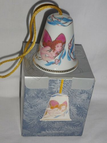 NEW LLADRO CHRISTMAS CELESTIAL MUSIC BELL PORCELAIN ORNAMENTS ** Look MORE    JL