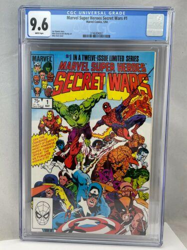 Marvel Super Heroes Secret Wars #1 CGC 9.6 NM+ Marvel Comics 5/84 1984 WP