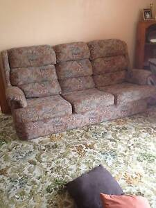 Make an offer on Lounge Suite with Recliner chairs West Hobart Hobart City Preview