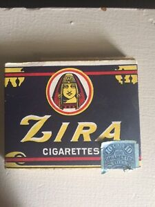Cigarettes dated back to 1909