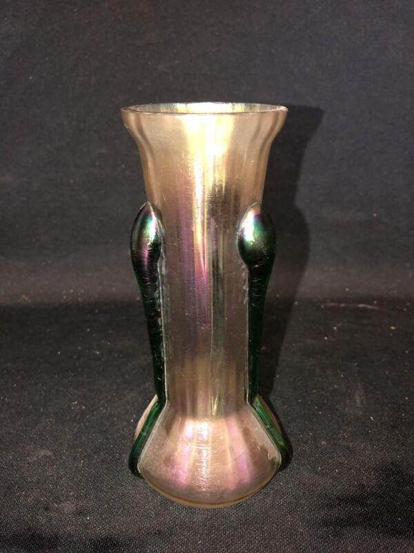 "6 1/2"" kralik Art Glass Vase"
