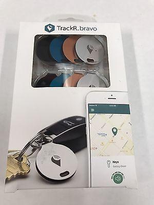 Trackr Bravo Bluetooth Gps Tracker   8 Pack   Multi Color