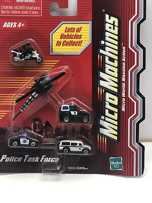 Micro Machines Police Task Force 2003