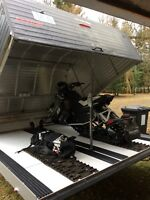 Sled and enclosed trailer for sale