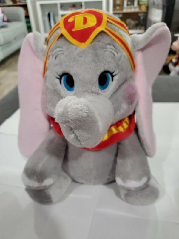"Disney Parks Dumbo 11"" Medium Plush Doll New with Tag Disneyland"