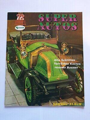 Album figurine Super Autos 72 Kuroczik Vuoto - Nuovo edizione Sammel