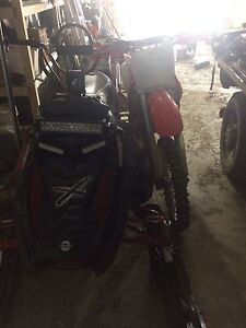 Sled and bike trade for side by side