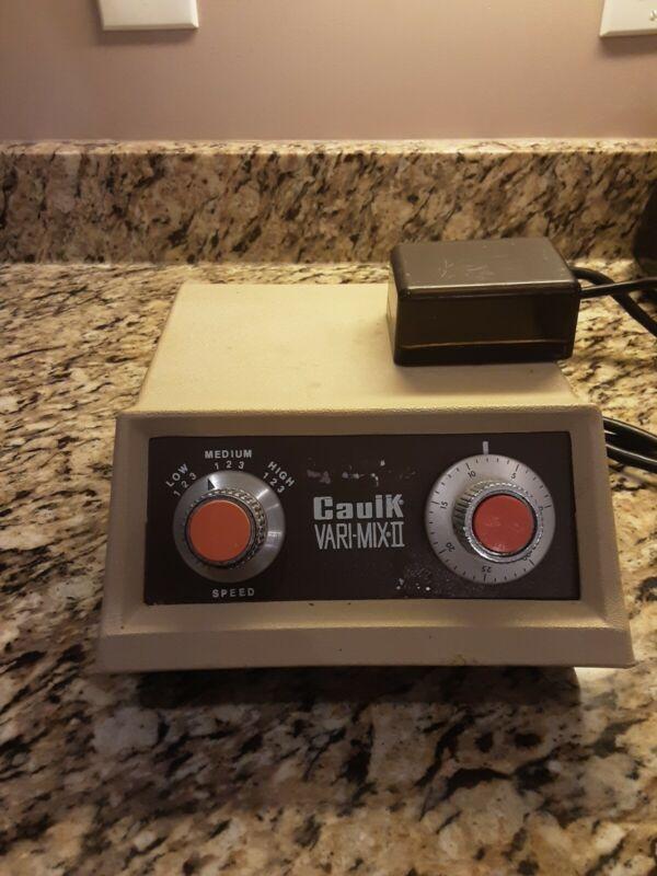 Caulk Vari-Mix II-Amalgamator - Tested - Works great