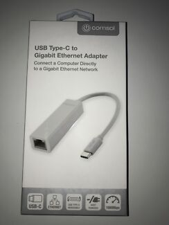 USB-C to Ethernet adapter