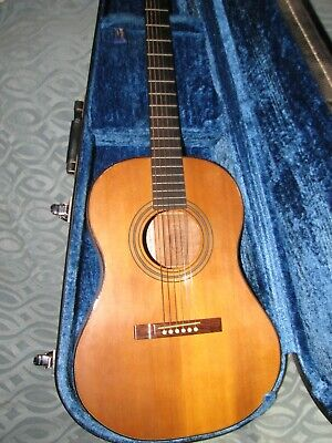Handmade 6 string acoustic guitar by Dennis Hill