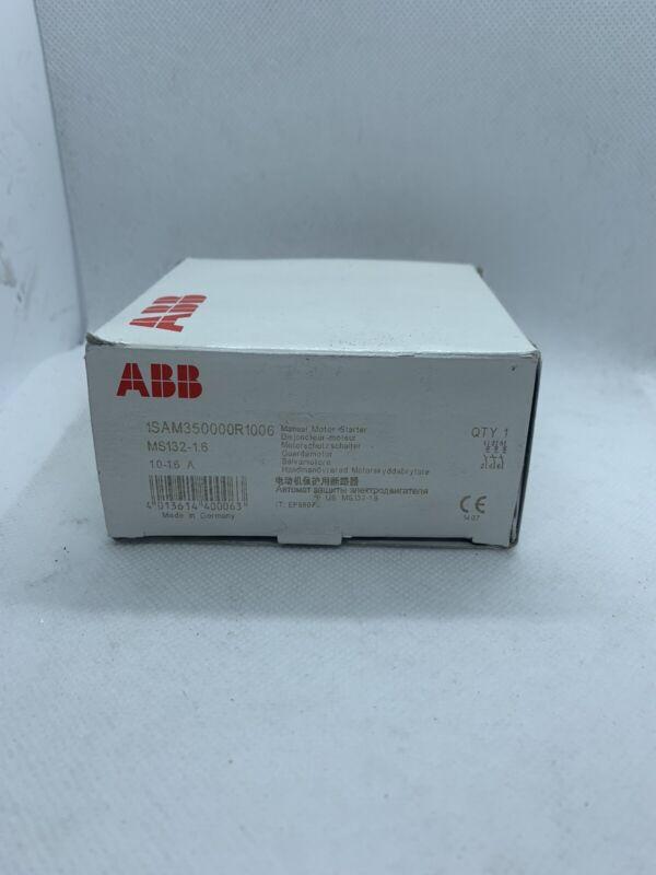 ABB 1SAM350000R1006 Manual Motor Starter NIB