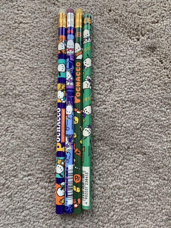 Sanrio Vintage Pochacco Pencils Stationary Plush Trinket
