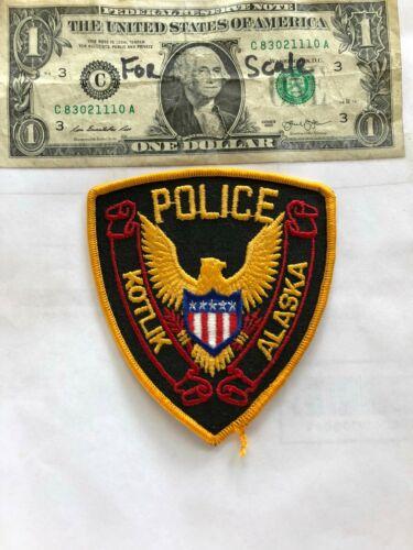Rarer Kotlik Alaska Police Patch Un-sewn great shape