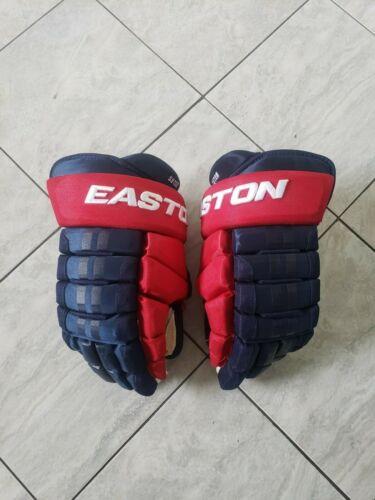 Ryan Suter Team USA Easton pro stock hockey gloves, 15s