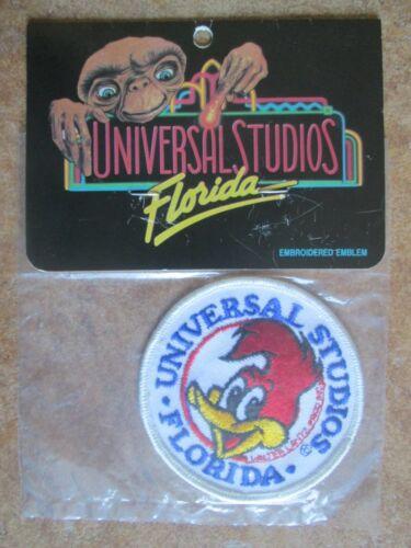 Universal Studios Florida NIB Vintage Woody Woodpecker Embroidered Emblem Patch