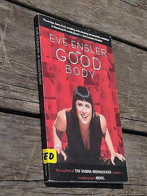 The Good Body by Eve Ensler used paperback book very good