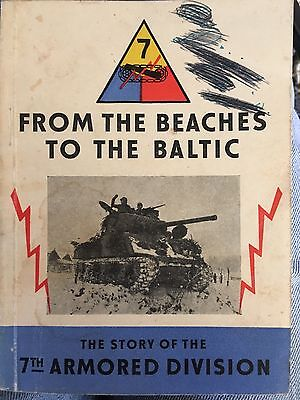 1947 From beaches to Baltic WW2 original paperback 55 pg booklet