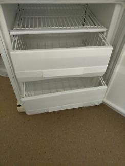 Upside down fridge and freezer