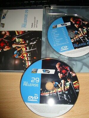 Les Mills RPM New Release 29 DVD CD Choreoheft Cycling Spinning