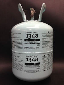 NEW-Dupont-30-lb-Can-Tank-Suva-Refrigerant-R-134A-SEALED-FREE-SHIPPING